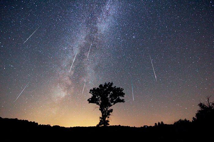 lkluvia de meteoros