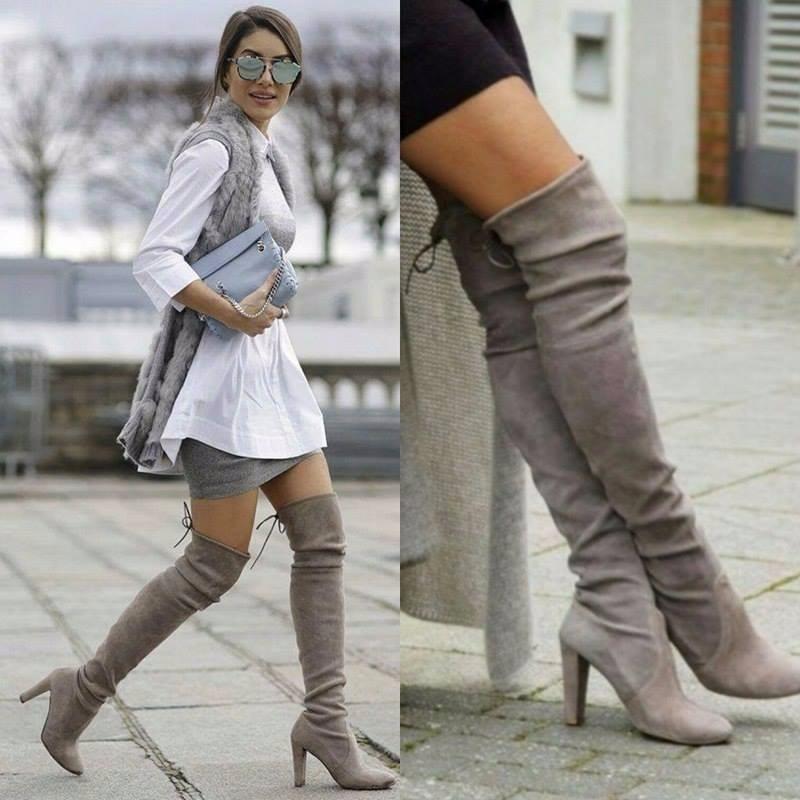 mejor selección c34aa 1a955 botas-largas-bucaneras-sobre-rodilla-con-tacon-moda-mujer ...