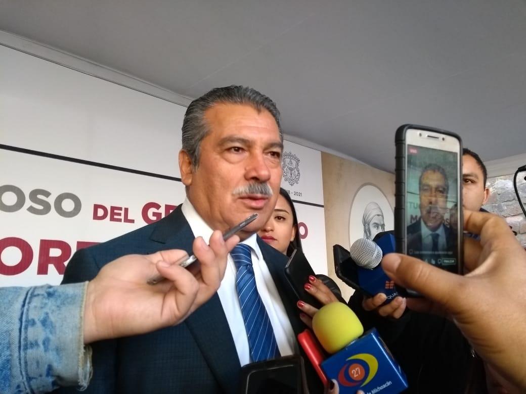 Raúl Morón seguridad Morelia