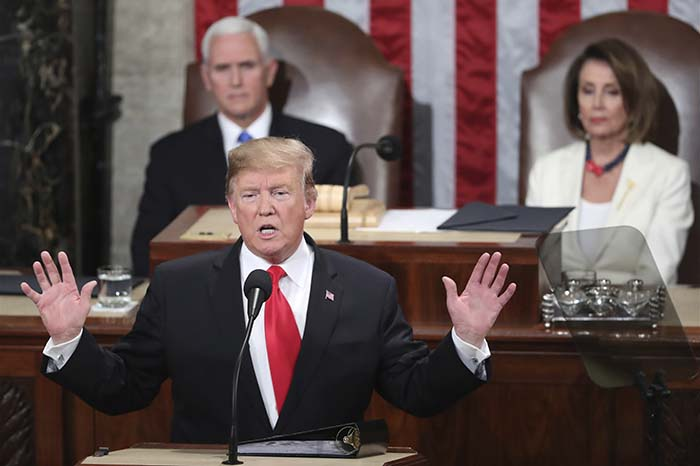 Donald Trump,Mike Pence,Nancy Pelosi
