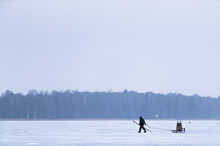 Lithuania Smelt Fishing