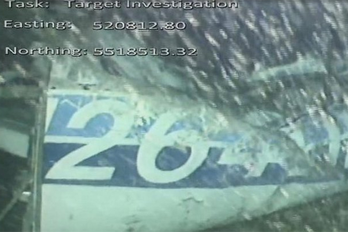 restos de avioneta encontrada