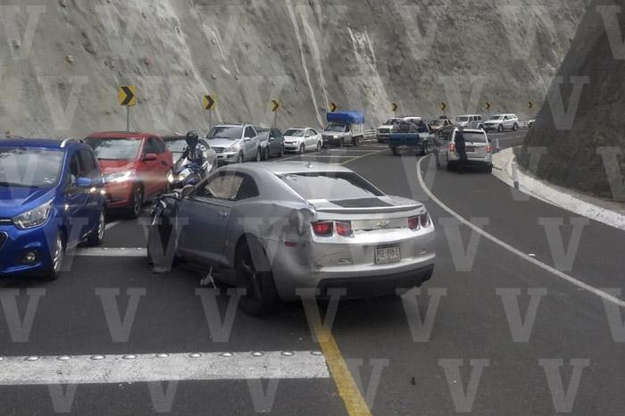 MORELIA Encontronazo de dos vehículos deja 6 heridos en el Ramal Camelinas