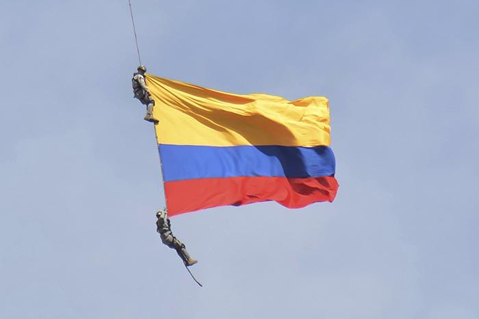 COLOMBIA-ACCIDENTE AEREO