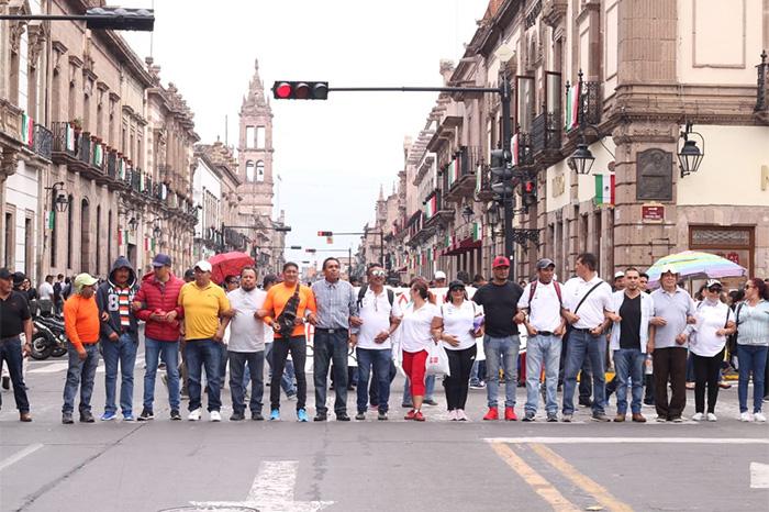 marcha morelia cnte