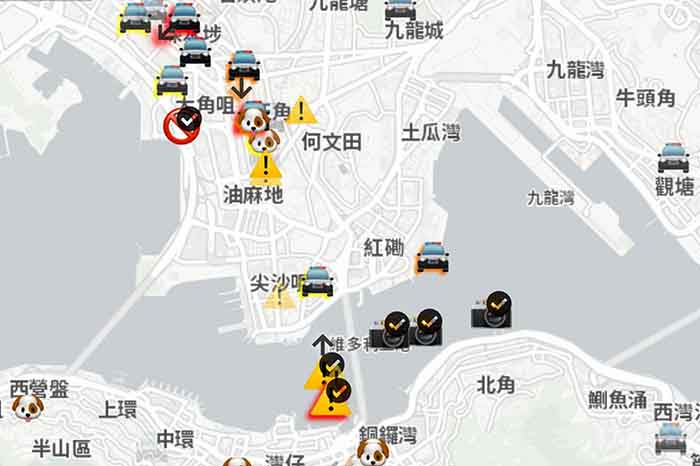 HONG KONG-PROTESTAS-APPLE