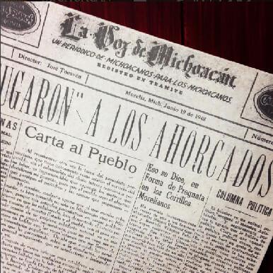 Historia, La Voz De Michoacán