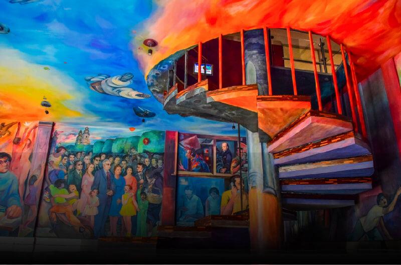 Mural, La Voz de Michoacán